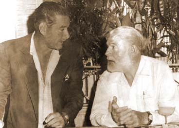Erol Flynn, Ernest Hemingway, daiquiry