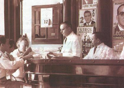 Ernest Hemingway, Constantino Ribalaigua, El Floridita, Daiquiri