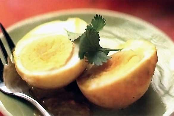 Ouă tari picante