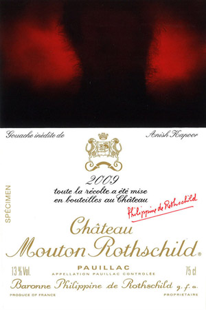 Anish Kapoor Chateau Mouton Rothschild 2009