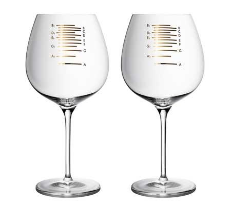 Pahare de vin diapazon