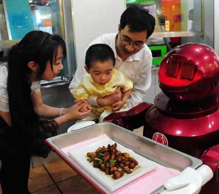 Robot ospatar