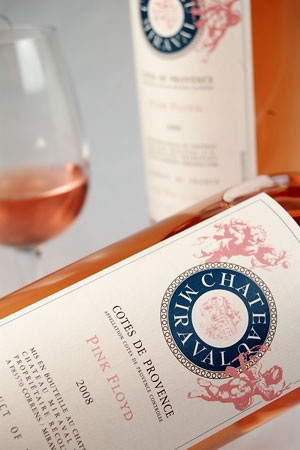 Chateau Miraval Pink Floyd