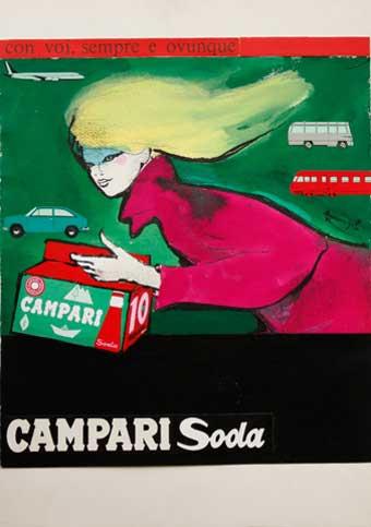 Franz Marangolo Campari Soda
