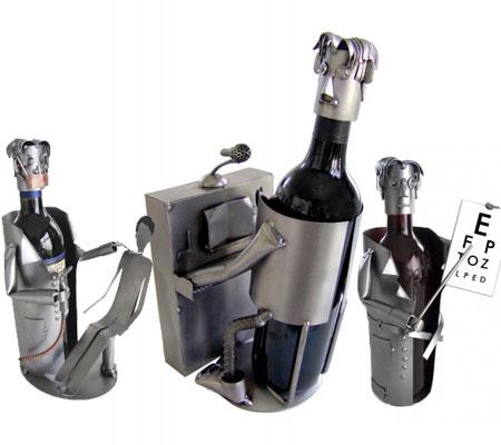 Accesorii pentru vin: Suporturi de vin metalice