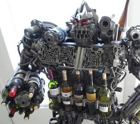 Accesorii pentru vin: Wine Rack Robot