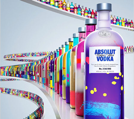 Vodka Absolut Unique