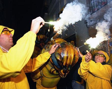 Festa de la Filloxera, Sant Sadurni