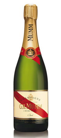 șampanie GH Mumm
