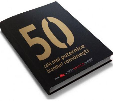 Top 50 branduri românești