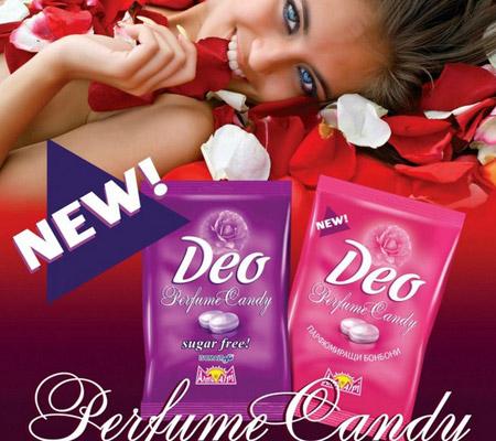Deodorant comestibil Deo Perfume Candy