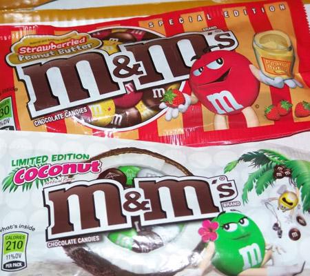 Bomboane M&M dulciuri