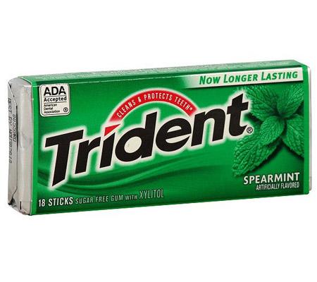 Guma de mestecat Trident