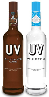 Votcă UV Chocolate Cake & Whipped