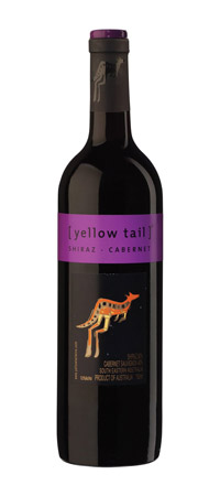 vin Yellow Tail Shiraz Cabernet