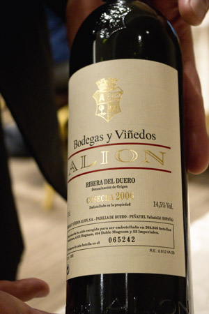 Bodegas Y Vinedos Alion 2006