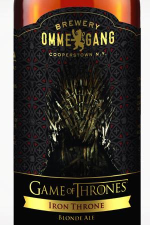bere Iron Throne Blonde Ale
