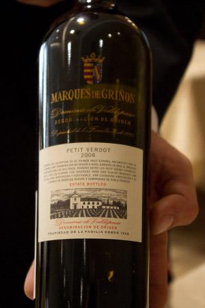 Marques de Grinon Petit Verdot, DO de Pago, 2006