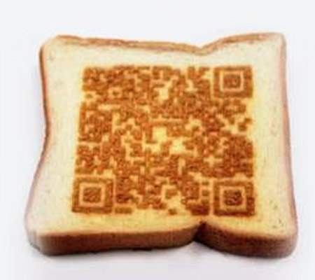 Pâine prăjită cu laserul
