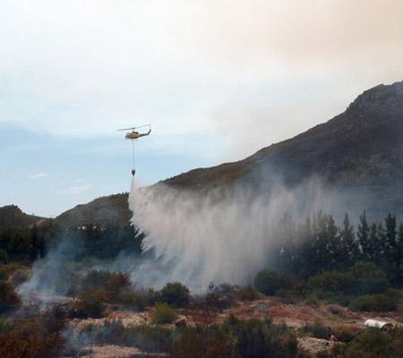 Incendiu Africa de Sud