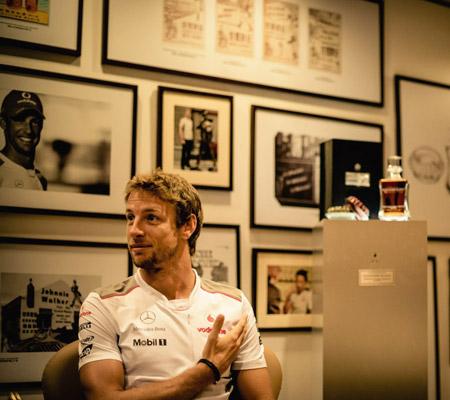Jenson Button - John Walker Signature Blend