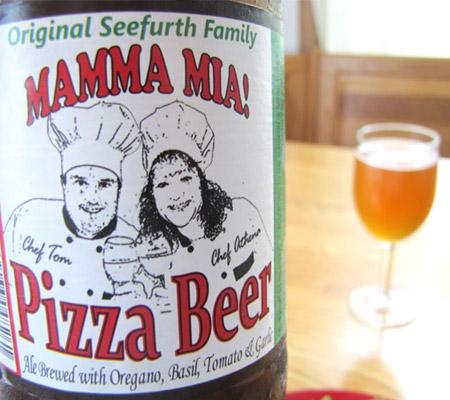bere cu pizza