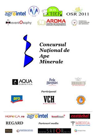 Afis Concursul Național de Ape Minerale 2014