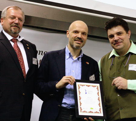 Marian Timofti (OSR 2011), Davide Oltolini (AIS), Răzvan Avram