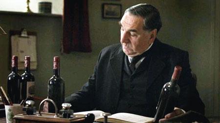 Downton Abbey, vinuri, vin