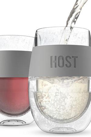 Paharul care răcește vinul