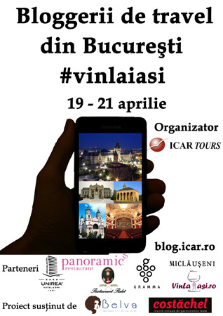 Travel blogger Iasi