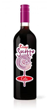 vin roșu cola Rouge Sucette